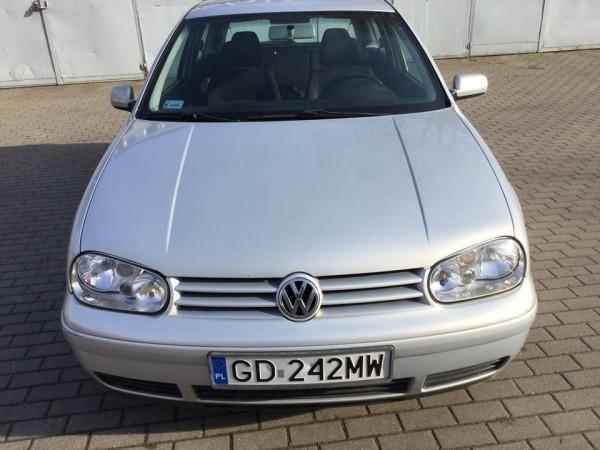 Volkswagen widok z przodu