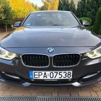 BMW widok z przodu