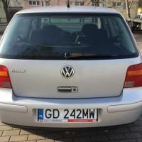 Volkswagen widok z tylu